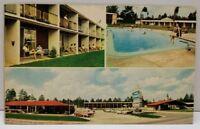 1960's Howard Johnson's Motor Lodge & Restaurant Falkston Georgia Postcard A20