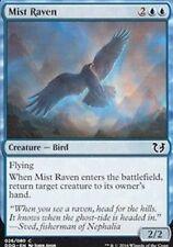 Mist Raven X4 NM Blue Common Blessed Vs Cursed MTG Magic