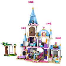 Castle Princess Friend Building Blocks For Girl Sets Toy Cinderella Romantic