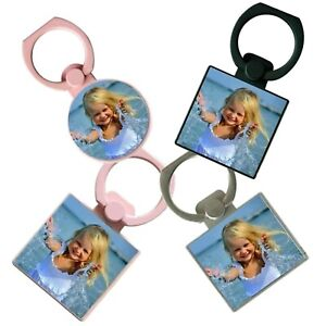 Personalised Photo Phone Ring Holder Full Colour
