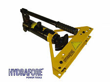 "Hydraulic Pipe Tube Bender w. 4 dies & Case all metal bending (3/8"" - 1"") W-1A"