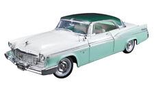 1/18, 1956 CHRYSLER NEW YORKER ST. REGIS GREEN , DIECAST MODEL CAR BY ACME