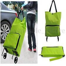 Folding Foldable Shopping Trolley Bag Cart Rolling Wheel Grocery Handbag Tote