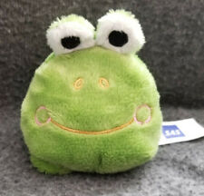 Sas Scandinavian Airlines Green Frog soft plush/beany - 3.5""