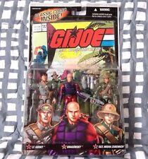 G.I. Joe ARAH Comic 3 pack Oktober Guard Lt Gorky DragonSky MOSC Lot Vintage G1