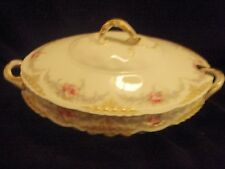 Theodore Haviland Limoges Covered Vegetable Bowl made for Tyndale & Mitchell Co.