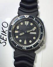 SEIKO 6309 7040 tortuga automático divers watch Vintage Original Japón