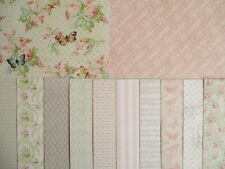 "Dovecraft Floral Muse 12 sheets 6x6""  Scrapbook backing Papers"