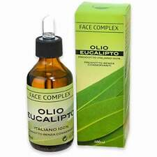 Face complex olio essenziale eucalipto 100% prodotto italiano 100ml gola naso