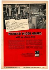 1953 GM Detroit Diesel Ad: Trant Drilling Co Tyler, Texas Twin -6 Units Oil Well