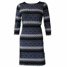 Wallis Polyester Round Neck 3/4 Sleeve Dresses for Women