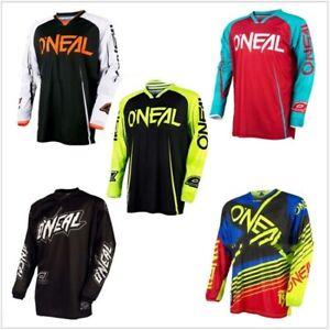 Oneal Jersey Racing Shirt Mountain Bike Downhil DH MTB Motocross Cycling Sports