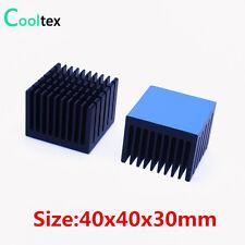 5pcs Aluminum Heatsink 40x40x30mm Heat Sink Radiator Cooling For Electronic Chip