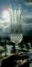 5 Cristal d'Arques-Durand Longchamp Champagne Flutes