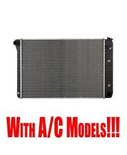 Radiator Chevrolet 1973-1988 & GMC 1973-1991 RWD with A/C Check Fitment Chart!!!