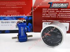 Turbosmart Boost-Tee (Blue) Manual Turbo Boost Controller + 52mm 0-30psi Gauge