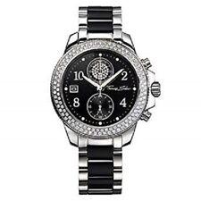 WA0055 New Genuine Thomas Sabo Glam & Soul S/S Black Ceramic Bracelet Watch £679