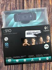 Logitech C910 HD Pro Webcam - New