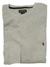 Polo Ralph Lauren Men's Gray Waffle Knit Thermal Long Sleeve T-Shirt