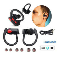Ecouteurs Casque Bluetooth Sans fil Auriculaires Samsung Iphone Ear Hook Twins