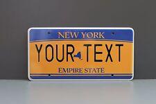 US AUTO USA CAR NEW YORK STATE LICENSE PLATE Kennzeichen Nummernschild DEINTEXT