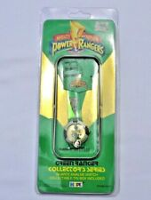 NEW MIGHTY MORPHIN POWER RANGERS GREEN RANGER 1994 COLLECTOR SERIES ANALOG WATCH