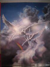 """Sue Dawe """"First Flight"""" Pegasus Horse & Baby Poster 16x20 Art Print"""