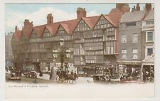 London postcard - Old Houses in Holborn, London