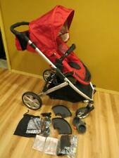BRITAX B-Ready Baby Stroller RED Single Converts to Double Complete LKNew