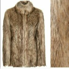 2f6c24b94f Topshop Coats, Jackets & Waistcoats Faux Fur Outer Shell for Women for sale  | eBay