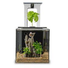 *New* EcoQube C Aquarium - Remote Controlled Desktop Ecosystem w/ Accessories