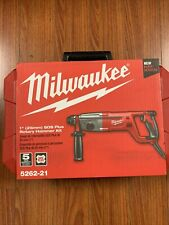 Milwaukee 5262 21 1 Inch Sds Plus Rotary Hammer Kit Brand New Free Shipping