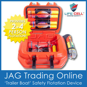 LIFE CELL 'TRAILER BOAT' FLOTATION DEVICE MARINE SAFETY for 2-4 People Overboard
