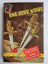 UN MYSTERE  N° 291 1956  William IRISH / Une peur noire