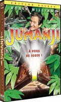 DVD : Jumanji - Ed Deluxe - Robin Williams - NEUF