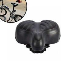 Comfort Wide Big Bum Bike Bicycle Gel Cruiser Extra Pad Soft Seat Saddle Sp D8
