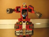 Speed-Bot II Go-Bots Transformers Race Car Red 2002 Playskool