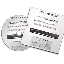HOW TO MAKE KATANA WEAPON JAPANESE SWORD KNIFE  SMITH Forging BookS #BLACKSMITH