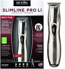 ANDIS SLIMLINE PRO LI CORDLESS TRIMMER LIGHTWEIGHT # 32400 NEW (Model D-8) 120V