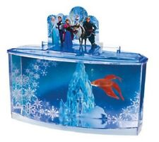 Penn Plax Frozen Betta Tank Aquarium Fish Tank Childrens Siamese Fighter Kids