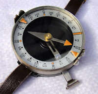 Genuine Soviet Russian Military Army Officer Hand Wrist Compass New Surplus