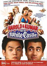 Harold & Kumar Go To White Castle -DVD - MINT... Region 4