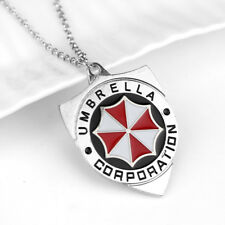 "Resident Evil 316L Surgical Stainless Steel Pendant w// 30/"" Ball Chain Necklace"