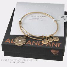 Authentic Alex and Ani Bridesmaid Rafaelian Gold Charm Bangle