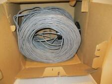ONE NEW GENERAL CABLE GRAY 24 AWG  8 (4 PAIR) CONDUCTORS W5133200E.