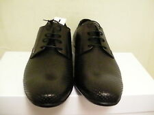 Versace collection casual shoes leather black size 41 euro new beautiful style
