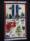 11 sep. 2001 Newyork afghan warrug carpet WTC gulf war iraq krieg Teppich 21/C