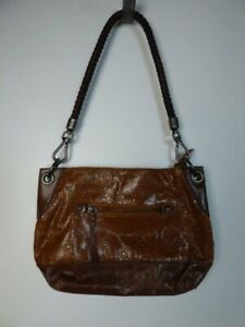 $150 The Sak Indio Hobo Laser Cut Leather Handbag Purse Alternate Strap NEW S414