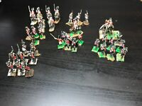 38 Vintage 25mm Napoleonic War Games metal painted Figurines