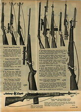 1965 ADVERT Toy Gun Johnny Eagle Daisy Smoker Carbine Marx Daniel Boone Hubley